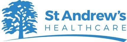 Pharmacy shelves for  st-andrews-logo-min